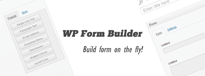 MicroForm - WordPress Form Builder Plugin packed with all required feature you will need to build a form. Unlike other form builder plugin it avoided all unnecessary complexity and will give you a easy and comfortable option for building your form.