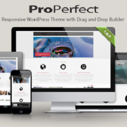 ProPerfect - Responsive Multipurpose WordPress Theme