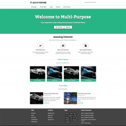 Multipurpose Pro - Responsive WordPress Theme