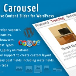 Top Post Carousel WordPress Plugin