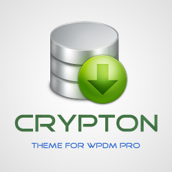 Crypton – Theme for WordPress Download Manager