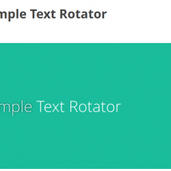 WP Super Simple Text Rotator