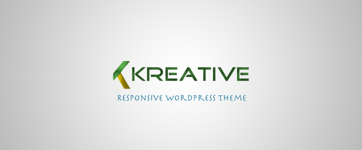 Kreative - Multipurpose WordPress Theme