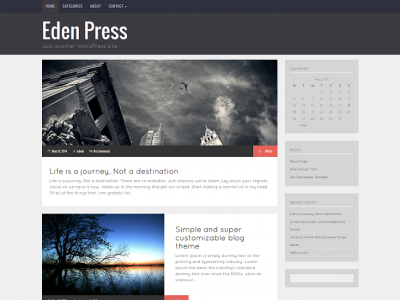 Eden Press – Responsive WordPress Blog Theme