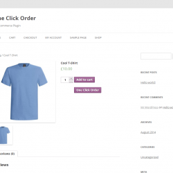 One Click Order Plugin for WooCommerce