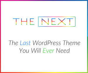 The Next & Last WordPress Theme You Will Ever Need