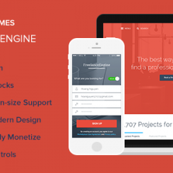 FreelanceEngine - Freelance Marketplace Theme