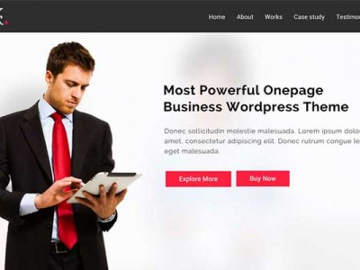 Quick Multipurpose Onepage WordPress Theme