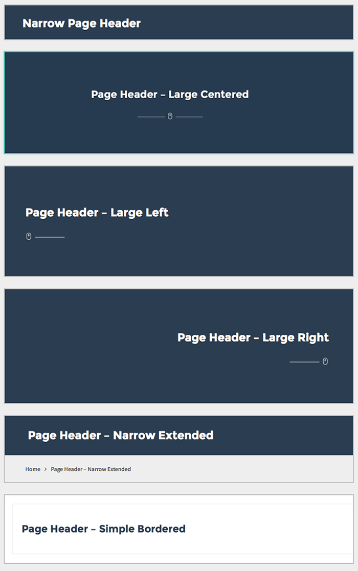 page-headers
