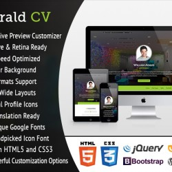 Emerald CV - Ultra-Customizable WordPress Resume Theme