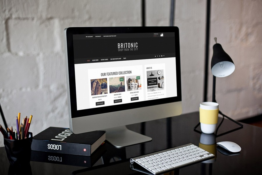 Britonic WordPress Theme