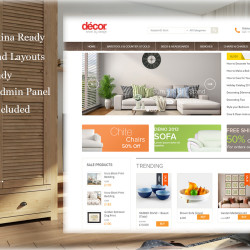 ITK Decor Theme - A beautiful decor market